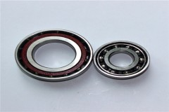 S7001AC stainless steel angular contact ball bearing