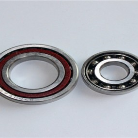 Stainless steel angular contact ball bearing S7205AC