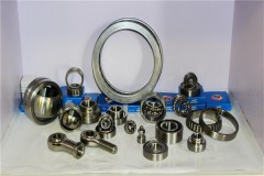 Disassembly and cleaning of stainless steel bearings.